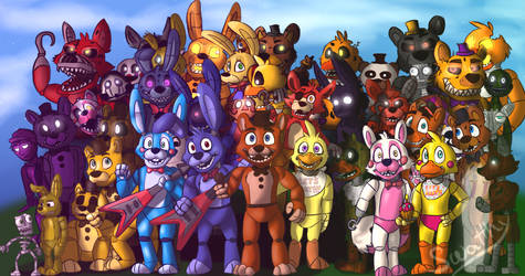 FNaF World by Swatthy