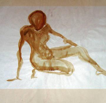 1995 Figure Gesture Paint by wentzr