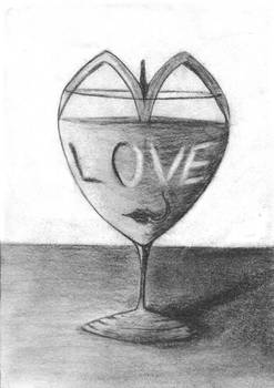 Glass of love. by sonigque