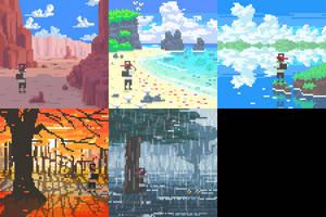 8-bit Album Covers pt.2 by Biodrawxel