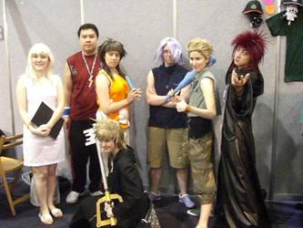 Twilight Town Team by Dancing-Riku