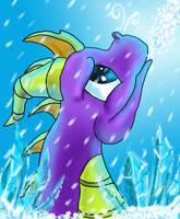 Spyro Elemental Series: Ice by ScaleBound