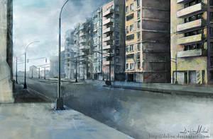 City -day light- by delira