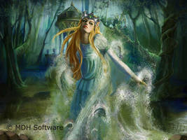 Elf Queen by delira