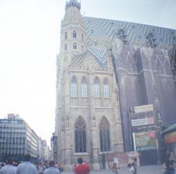 Wien in Diana Mini: Watching Stephansdom by neuroplasticcreative