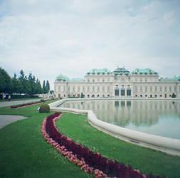 Wien in Diana Mini: Belvedere Palace II by neuroplasticcreative