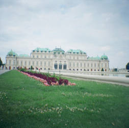 Wien in Diana Mini: Belvedere Palace III by neuroplasticcreative