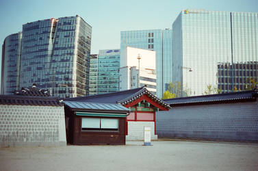 Gyeongbokgung Palace: Technology, Antiquity by neuroplasticcreative