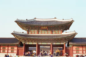 Gyeongbokgung Palace: Main Gate I by neuroplasticcreative