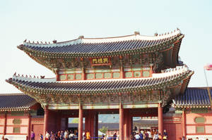 Gyeongbokgung Palace: Main Gate II by neuroplasticcreative