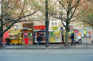 Downtown PDX: Alder Food Cart Pod IV by neuroplasticcreative