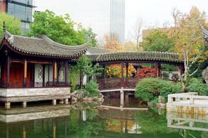 Lan Su: Urban Tranquility by neuroplasticcreative