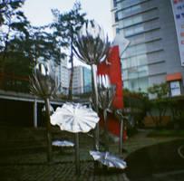 Edae: Metal Flower Memory, I by neuroplasticcreative