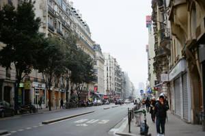 Paris Beaubourg: Street I by neuroplasticcreative
