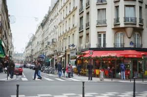 Paris Beaubourg: Street III by neuroplasticcreative