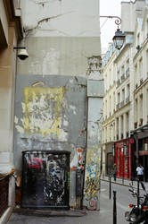 Paris Le Marais: Ruin by neuroplasticcreative