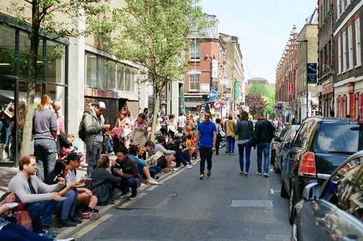 Brick Lane: Street, II by neuroplasticcreative