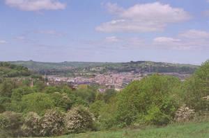 Prior Park Landscape Garden: View of Bath, III by neuroplasticcreative