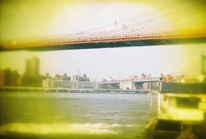 Brooklyn in Color: Brooklyn Bridge, IV by neuroplasticcreative