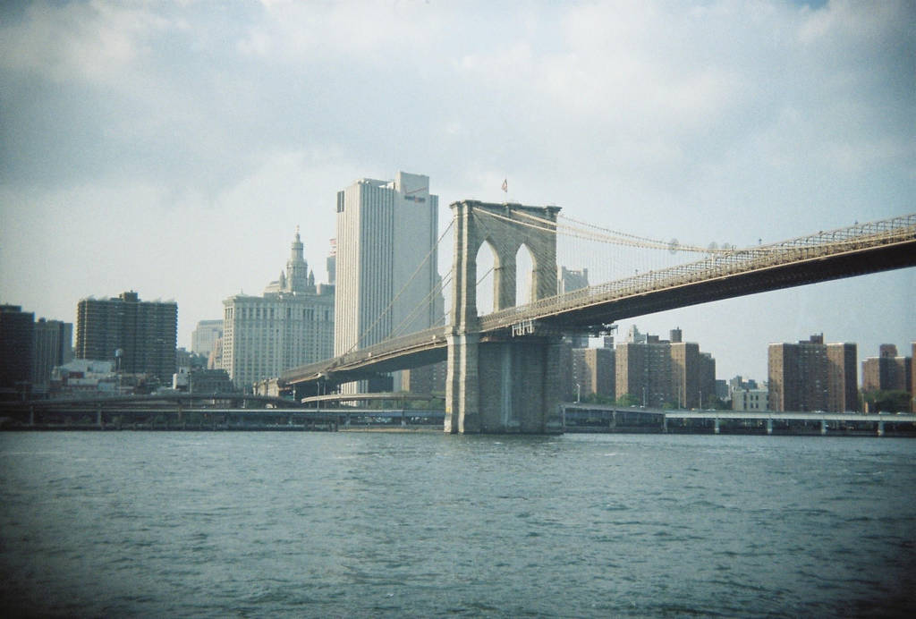 Brooklyn in Color: Brooklyn Bridge, V by neuroplasticcreative