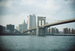 Brooklyn in Color: Brooklyn Bridge, V by neuroplasticcreative