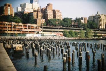 Brooklyn in Color: Sticks 'n' Stones, II by neuroplasticcreative