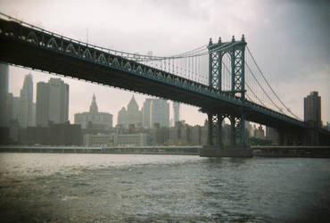 Brooklyn in Color: Brooklyn Bridge, VI by neuroplasticcreative
