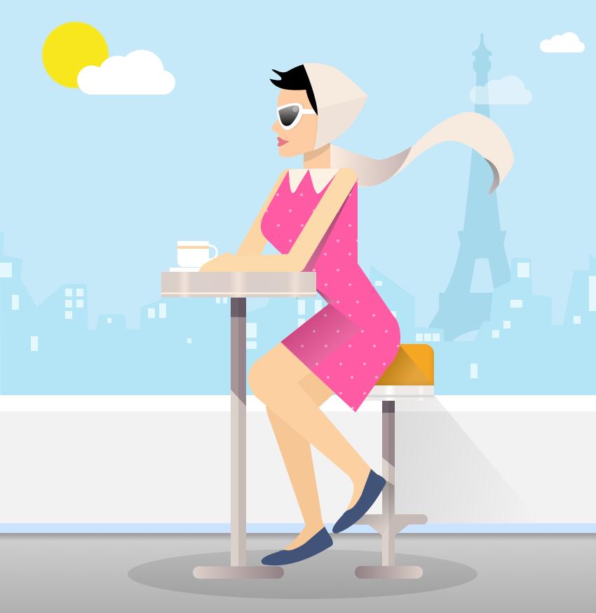 Tea in Paris by neuroplasticcreative