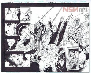 MUTANT X 06 Pages 18-19 by Cary Nord by NSN-Design