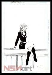 Rose Walker from Vertigo comics SANDMAN series by NSN-Design