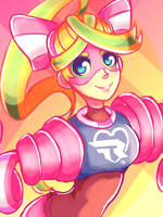 [DailyFanart] 07/06/17: Ribbon Girl by PhiphiAuThon