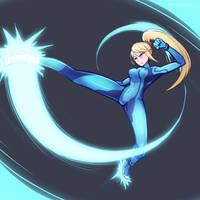 Smash4 Character Countdown #19: Zero Suit Samus by PhiphiAuThon