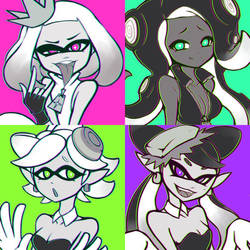 Splatoon Idols by PhiphiAuThon