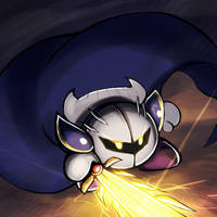 Smash4 Character Countdown #28: Meta Knight by PhiphiAuThon
