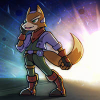 Smash4 Character Countdown #29: Fox by PhiphiAuThon