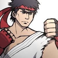Smash4 Character Countdown #52: Ryu by PhiphiAuThon