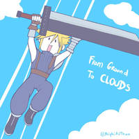 Smash4 Character Countdown #53: Cloud by PhiphiAuThon