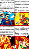 Rap Battle: Superman vs. Goku by Mothralina95