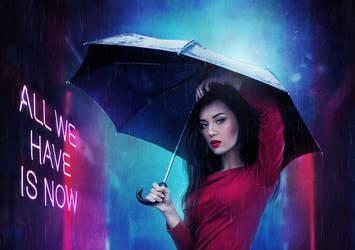 Neon Rain by OlgaSava