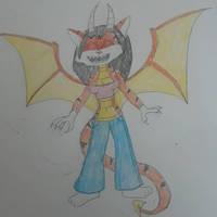 Enraged Tiger/Dragon Hybrid by Dragonguardian253