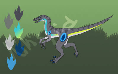 Fast raptor ADOPTABLE by jennovazombie