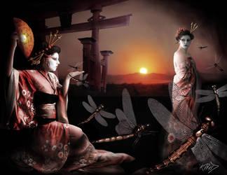 Spirit of Akitsu-shimu by AmberCrystalElf