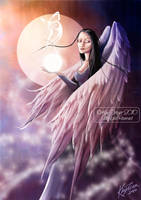 Angel of Change of Life by AmberCrystalElf