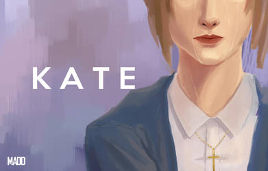 Kate March-Life Is Strange [WIP] by conxervation