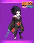Commission - Sasuke chibi by turtlechan