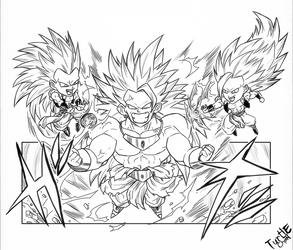 Legendary Super saiyan 3 by turtlechan