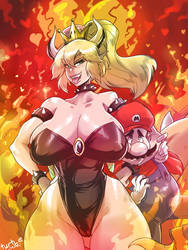 BOWSETTE by turtlechan
