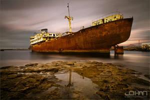 Telamon Schipwreck by nahojsennah