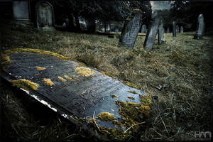 Aysgarth Graveyard by nahojsennah