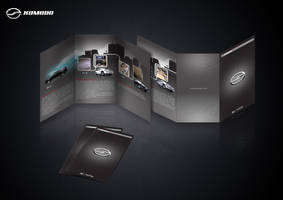 komodo presentation flyer by DrIvEr-D